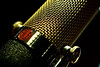 AEA ribbon mic closeup