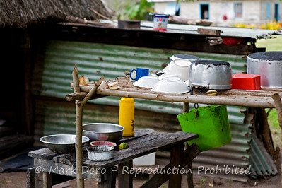 Nacula village kitchen, Nacula Island, Fiji