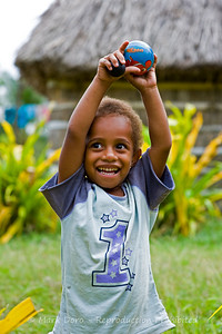 Nacula village child, Nacula Island, Fiji