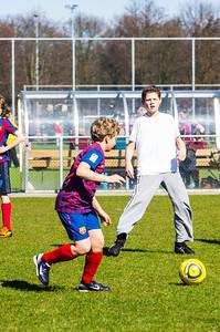 Mharda - Trainen schoolvoetbal - IMGP3080