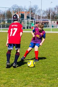 Mharda - Trainen schoolvoetbal - IMGP3057