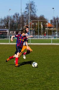 Mharda - Trainen schoolvoetbal - IMGP3103