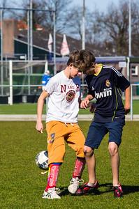 Mharda - Trainen schoolvoetbal - IMGP3098