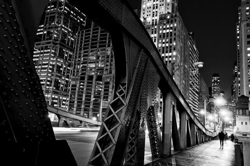 LaSalle St Bridge