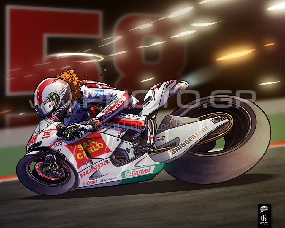 """Super Sic 1"" by RIch Lee<br /> To see more of Rich's amazing work, please visit:  <a href=""http://www.richleedraws.com"">http://www.richleedraws.com</a>"