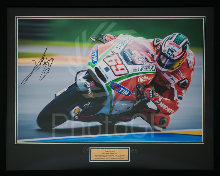 Nicky Hayden - Determined