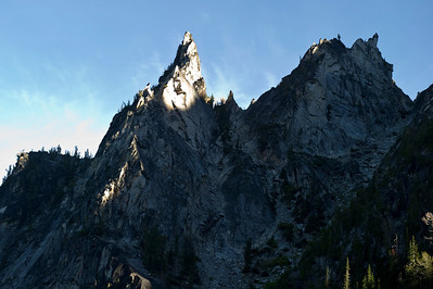 Spotlight on Jagged Peak