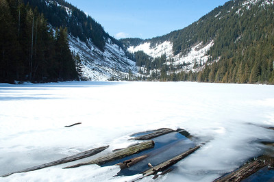 Talapus Lake in Early Spring