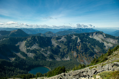 Annette Lake from Silver Peak