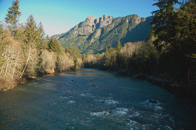 Taylor River in Winter