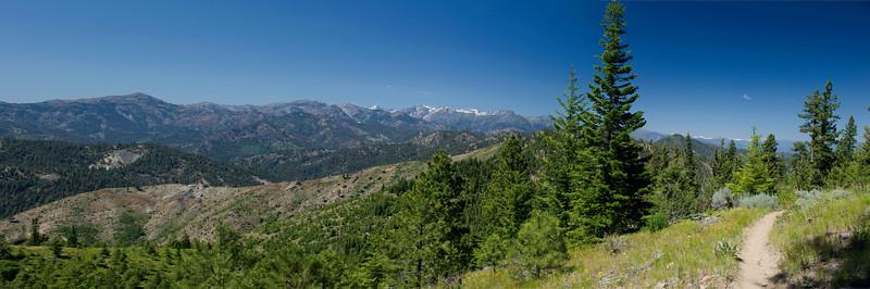 Tronson Ridge 12x36 Panorama