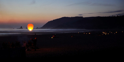 Sky Lantern Launch