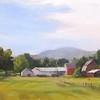 "Farm, Hinesburg, Vt<br /> 9""x12"""