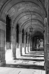 'Afternoon Arches' - Santiago de Compostela, Spain