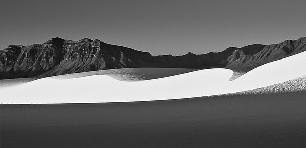 'Dawn Curves' - White Sands National Monument, New Mexico, USA
