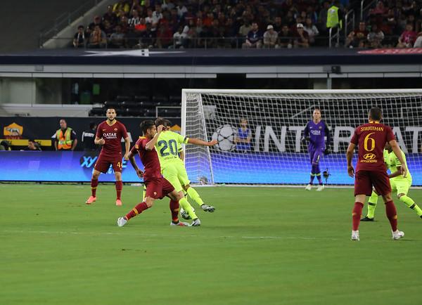 2018 FC Barcelona vs AS Roma