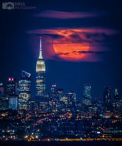 Rising Full Moon