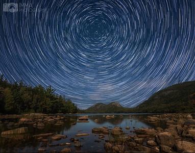 Stars at Jordan Pond
