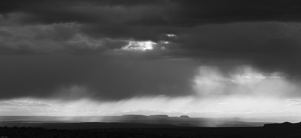 Rainy afternoon, Island in the Sky, Canyonlands National Park