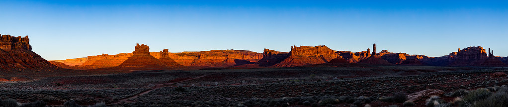 Valley of the Gods sunrise