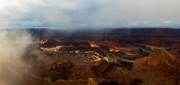 Canyonlands panorama from Dead Horse Point