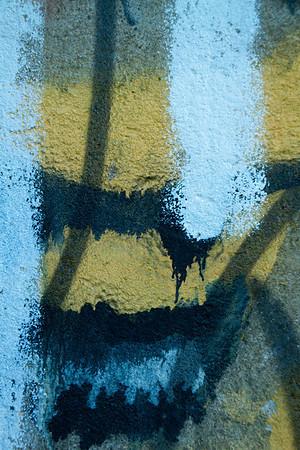 Graffiti under bridge, towpath, Bethlehem PA