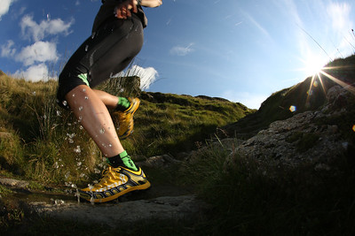 Fell running, Lake District UK