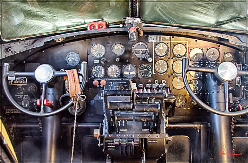 """THE B-17 FRONT OFFICE"""