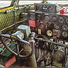 """THE B-29 SUPERFORTRESS PILOT'S STATION"""