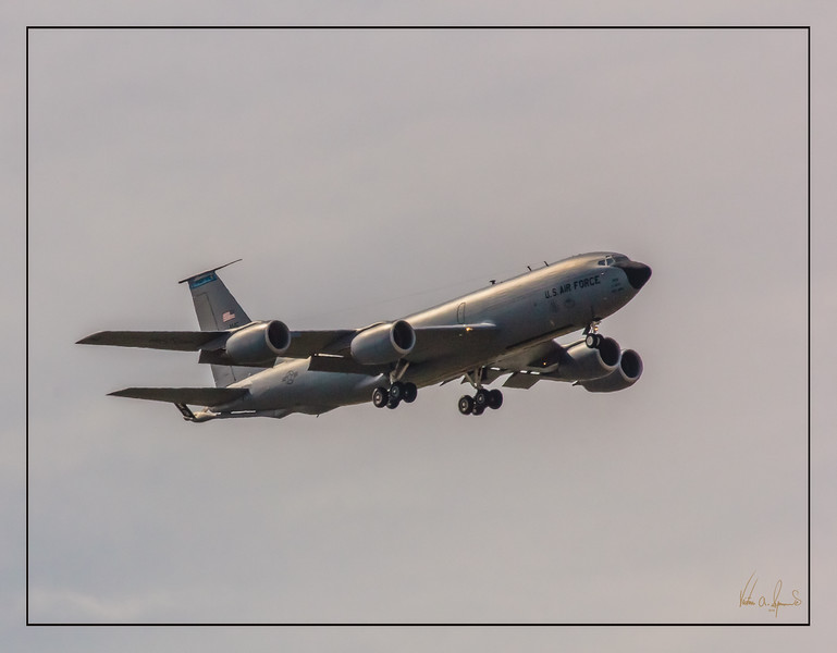 """KC-135 STRATOTANKER ON FINAL APPROACH"""