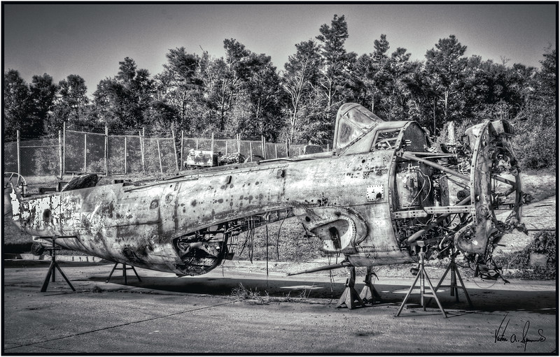 THE AIRCRAFT BONE YARD