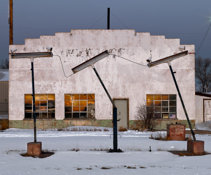 Gas Station, Rock River, Albany County, WY 2010<br /> © Edward D Sherline