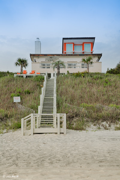 Mid-Century Modern Beach House in Seaside, Florida