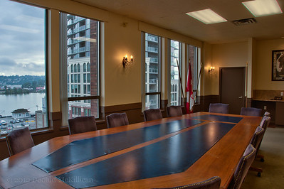Boardroom, Westminster Club, New Westminster, BC