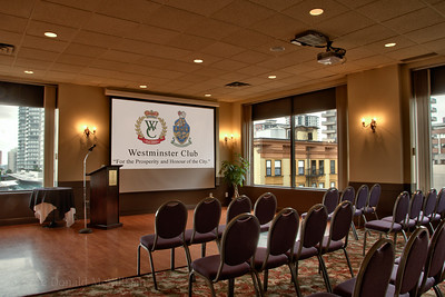 Conference room, Westminster Club, New Westminster, BC