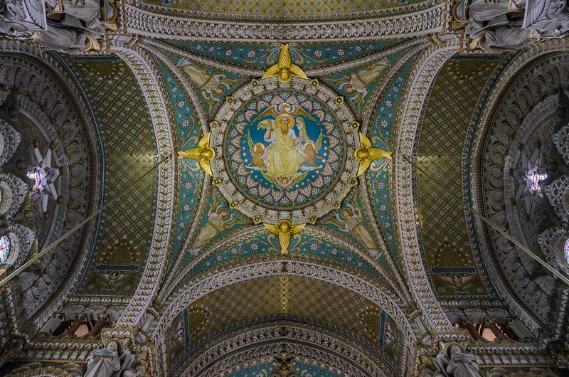 La Basilique Notre Dame de Fourvière.
