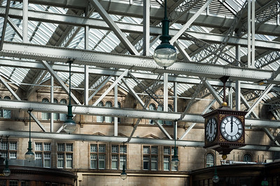 Glasgow Central Station, Scotland