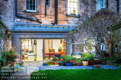 Oxford Terrace, Edinburgh - Dusk shot