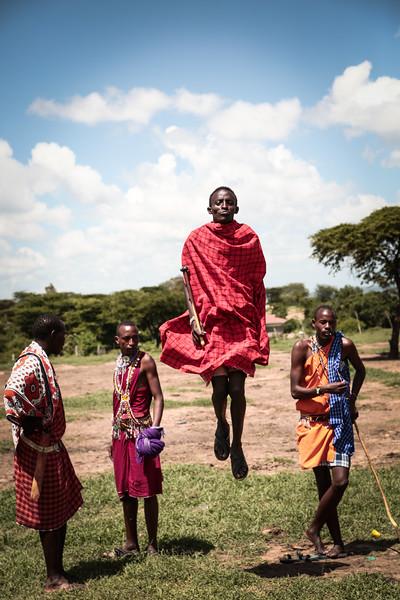 Maasai Mara tribal dance