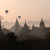 Balloons over Bagan I