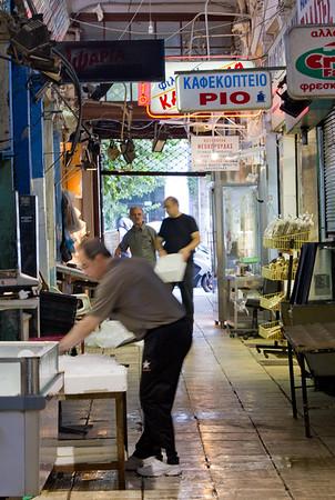 Thessaloniki market- early morn