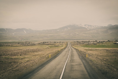 Road through Iceland