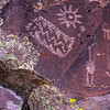 Northern Sinagua petroglyphs, Coconino County, Arizona
