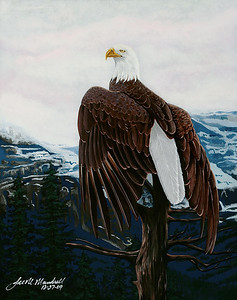 Standing Watch Masonite - Acrylics