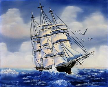 Cutty Sark Oil - Canvas