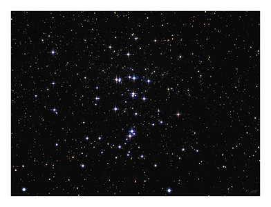 The Beehive Cluster - M44 in Cancer