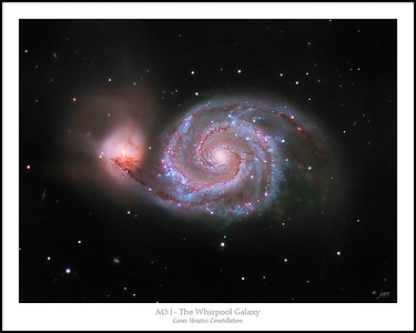 The Whirlpool Galaxy - M51
