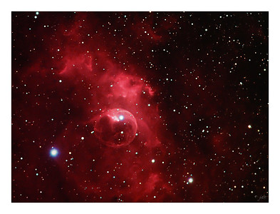The Bubble Nebula - NGC 7635 in Cassiopeia