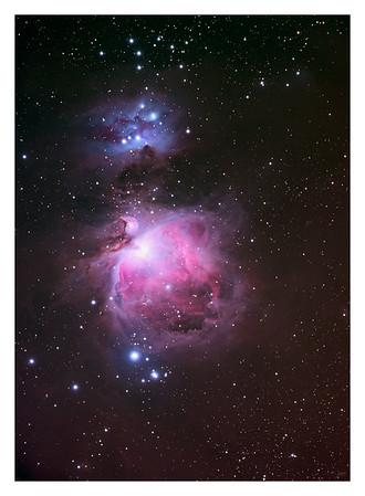 The Orion Nebula - M42 - Large