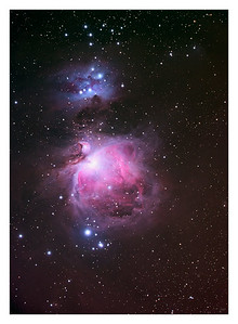 The Orion Nebula - M42 - Large